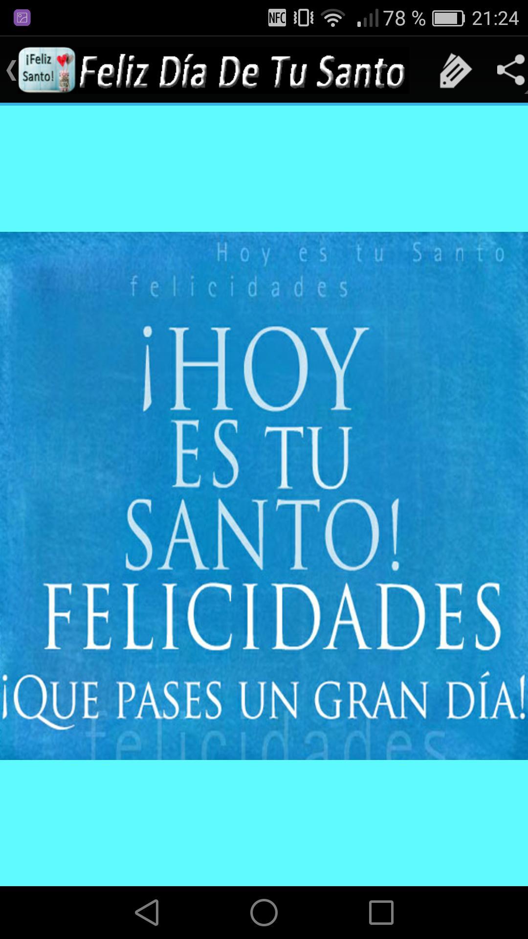 Feliz Dia De Tu Santo For Android Apk Download
