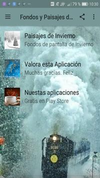 Fondos y Paisajes de Invierno screenshot 2