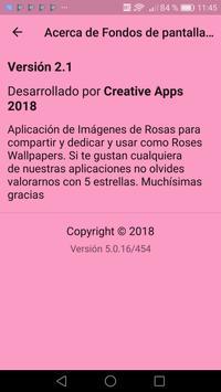 Fondos de pantalla de Rosas screenshot 1