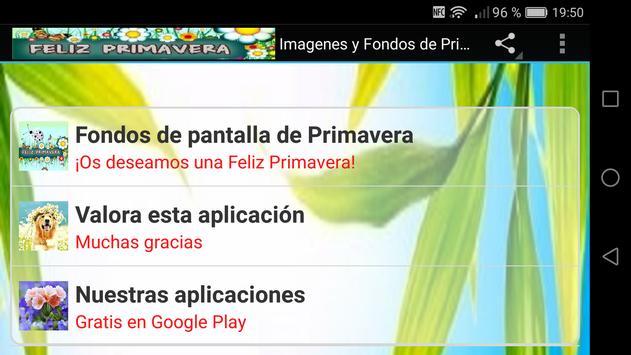 Imagenes de Primavera Fondos screenshot 8