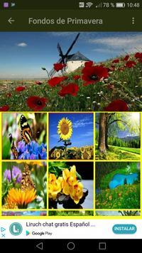 Imagenes de Primavera Fondos screenshot 3