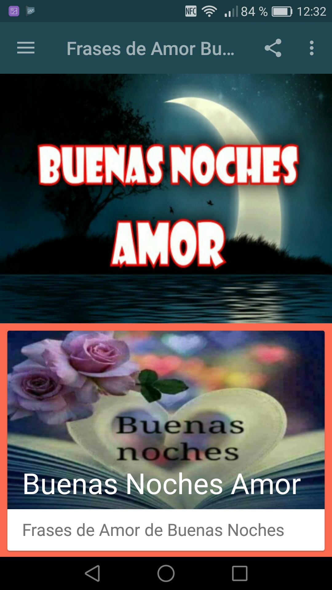 Frases De Amor De Buenas Noches Pour Android Téléchargez Lapk