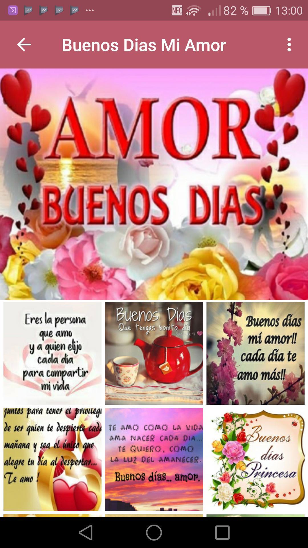Frases De Amor De Buenos Dias для андроид скачать Apk