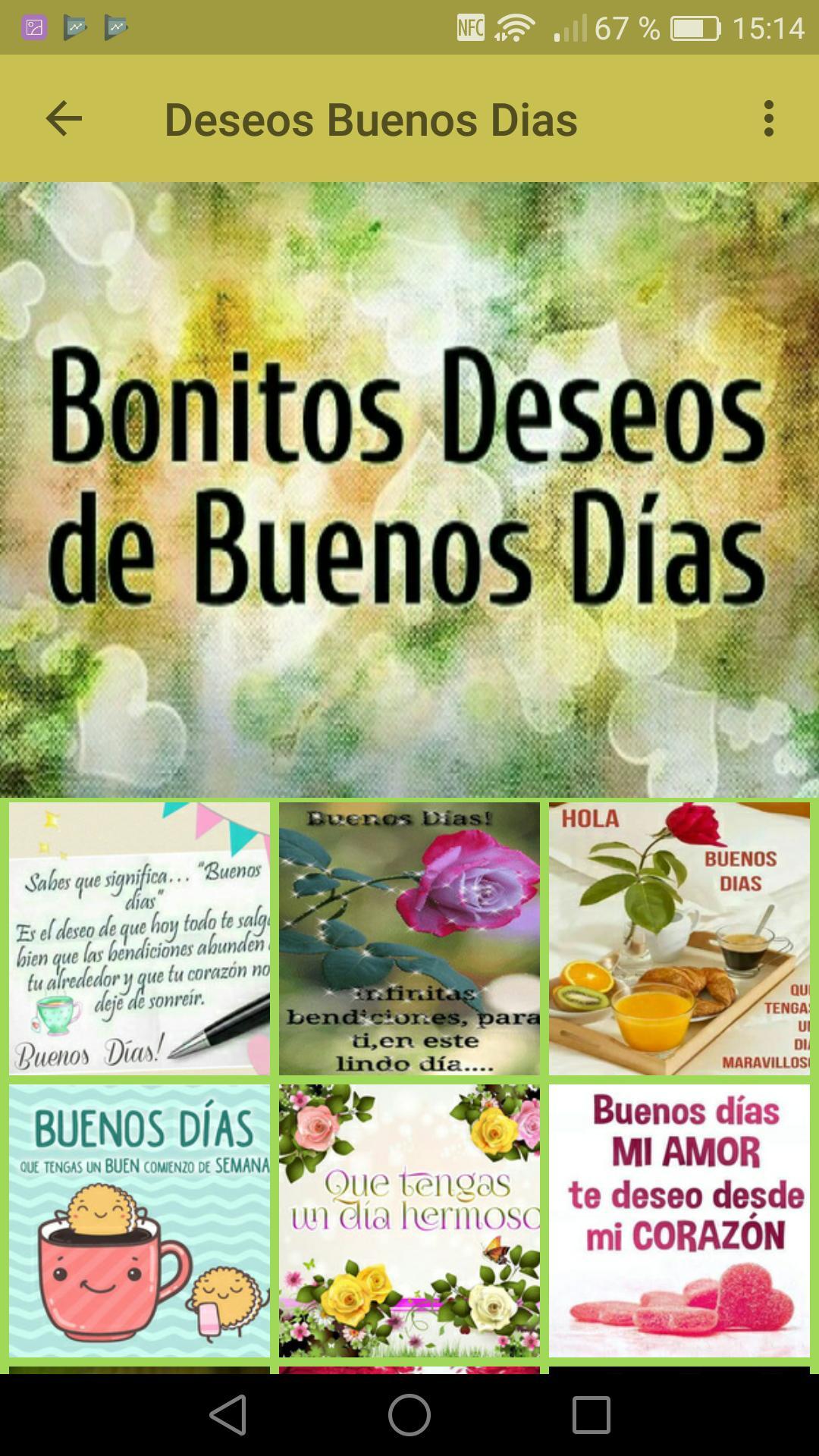 Frases De Buenos Deseos For Android Apk Download