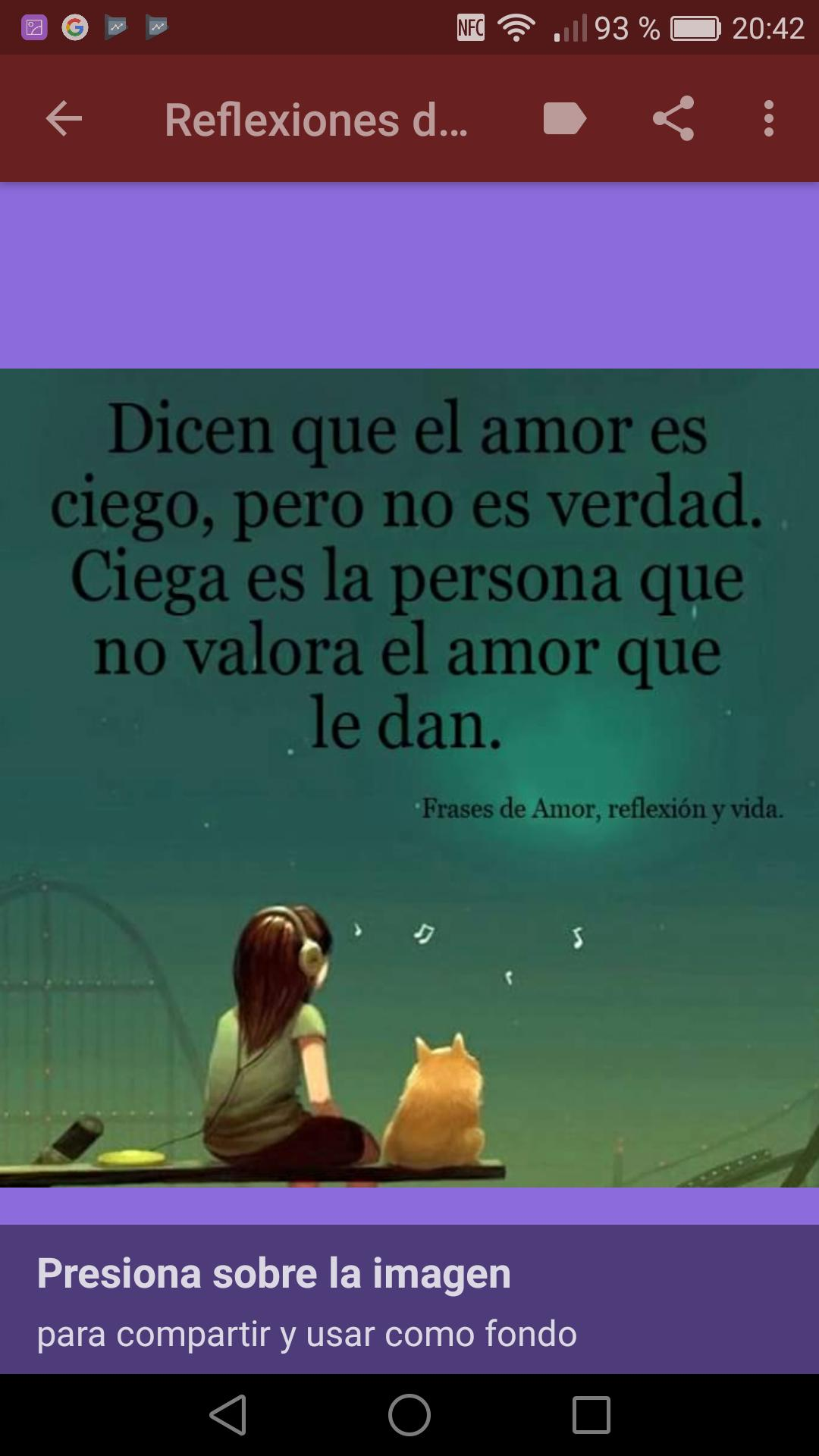 Reflexiones Sabias De Amor Y Vida For Android Apk Download