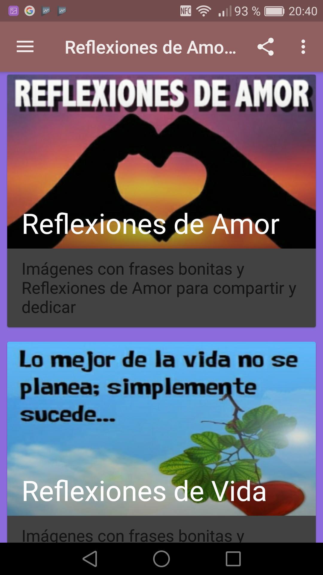 Reflexiones Sabias De Amor Y Vida для андроид скачать Apk