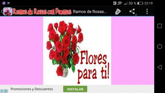 Ramos de Rosas con Poemas captura de pantalla 8