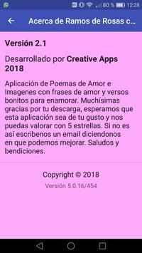 Ramos de Rosas con Poemas captura de pantalla 1