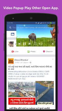 Video Player Popup Floating apk screenshot