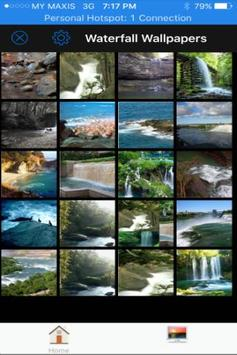 Waterfall Wallpaper HD apk screenshot