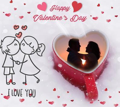 Valentine Frame and Valentine Card poster