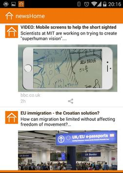 NewsHome App apk screenshot