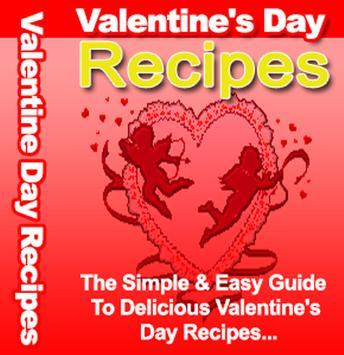 Valentine's Day Recipies poster