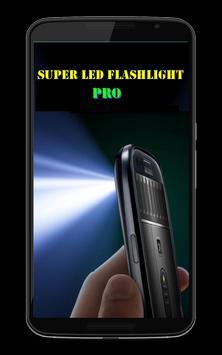 Super LED Flashlight Power Pro screenshot 3