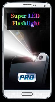 Super LED Flashlight Power Pro screenshot 5