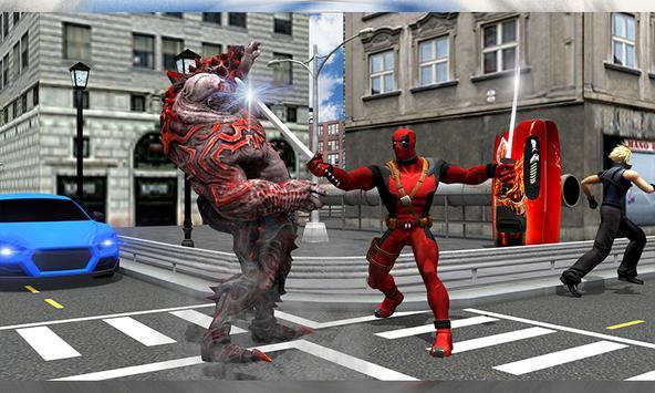 Dead Player : Superhero War screenshot 1