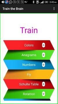 Train the Brain poster