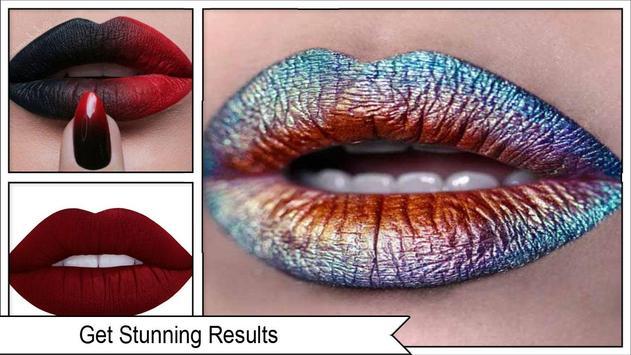 Stylish Glossy Lips Makeup screenshot 3