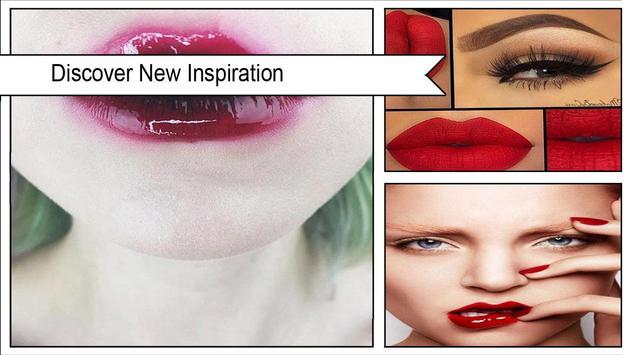 Stylish Glossy Lips Makeup screenshot 1