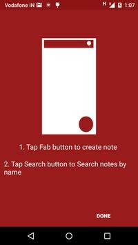 Creative Notes screenshot 1