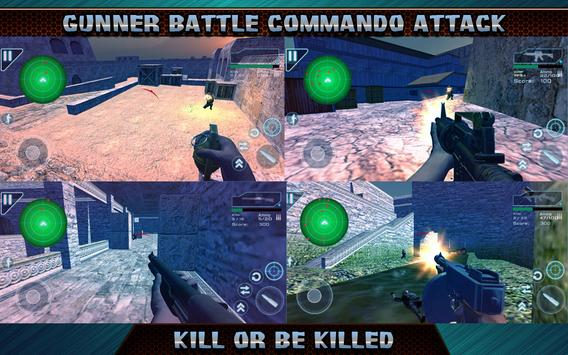 Gunner Battle Commando Attack apk screenshot