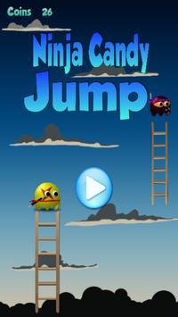 Ninja Candy Jump poster
