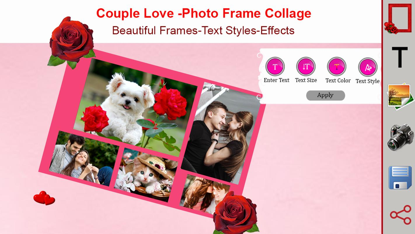 Couple Love - Photo Frame Collage APK Download - Free Entertainment ...