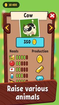 My Pocket Little Farm - Animals Zoo Tycoon screenshot 1
