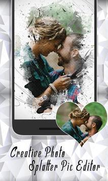 Creative Photo Splatter Pic Editor Studio Effect screenshot 5