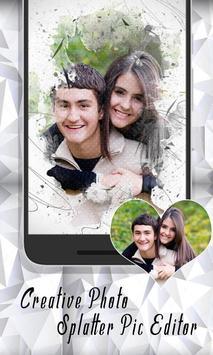 Creative Photo Splatter Pic Editor Studio Effect screenshot 7