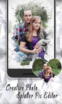 Creative Photo Splatter Pic Editor Studio Effect screenshot 12