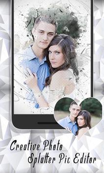 Creative Photo Splatter Pic Editor Studio Effect screenshot 3