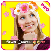Snap Flower Crown Camera icon