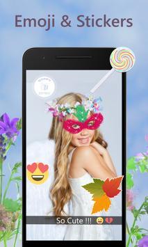 Snap Flower Crown Camera apk screenshot