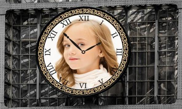 Clock Photo Frames poster