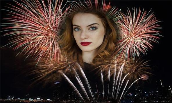 Fireworks Photo Frame screenshot 1