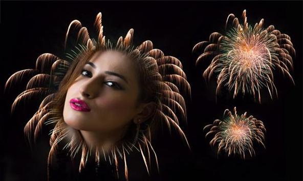 Fireworks Photo Frame screenshot 2