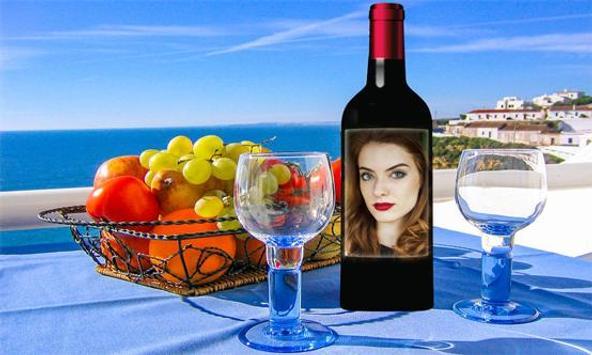 Glass Bottle Photo Frames apk screenshot