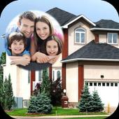Home Exterior Photo Frame icon