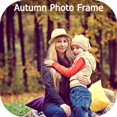 Autumn Photo Frames, Stickers, Lwp For WhatsApp icon