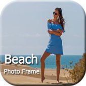 Beach Photo Frames, Stickers, Lwp For WhatsApp icon