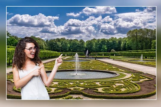 Fountain Photo Frames, Stickers, Lwp For WhatsApp poster