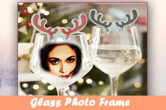 Glass Photo Frames, Stickers, Lwp For WhatsApp poster