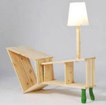 new creative wood furniture poster