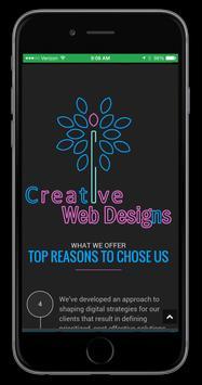 Creative Web Designs poster
