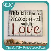 Classic DIY Pallet Wood Wall Sign icon