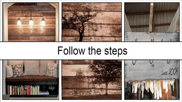 Classic DIY Pallet Wood Wall Sign screenshot 2