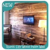Rustic DIY Wood Pallet Wall icon