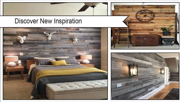 Rustic DIY Wood Pallet Wall screenshot 1