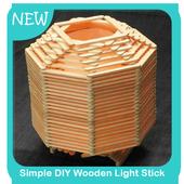 Simple DIY Wooden Light Stick icon